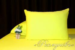 Купить желтые трикотажные наволочки на молнии в Саратове