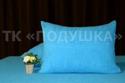 Купить голубые махровые наволочки на молнии в Саратове