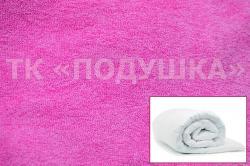 Купить розовый махровый пододеяльник  ТМ Подушка {citys}